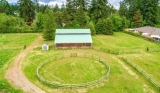 MLS # 10/2020: Riding Ring, Complimented By Cross-fenced Pasture.